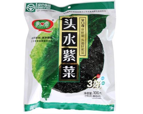 亲口奇头水紫菜(净含量:100g)