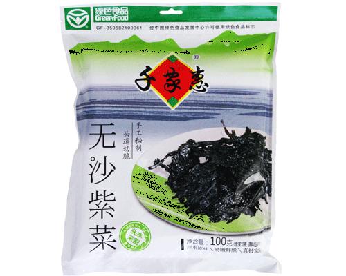 千家惠无沙紫菜(净含量:100g)