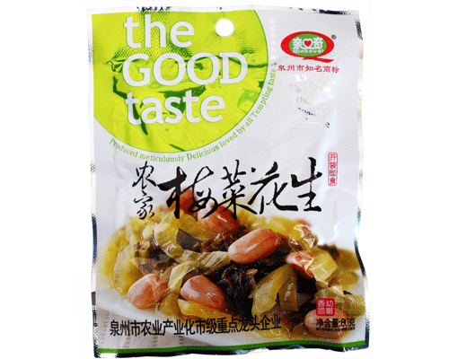 亲口奇农家梅菜花生(净含量:80g)