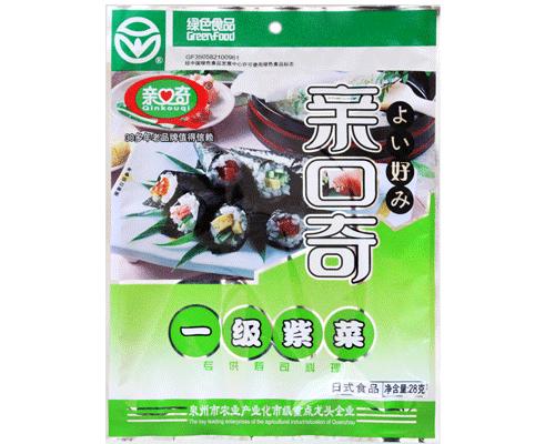 北京亲口奇一级紫菜专供寿司(净含量:28g)