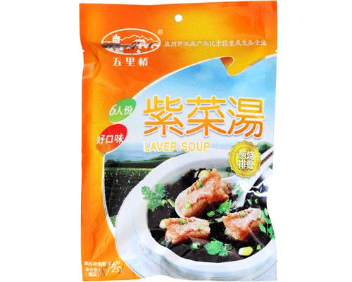 五里桥葱烧排骨紫菜汤(净含量:72g)