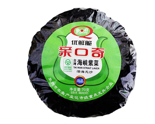 优鲜脆台湾海峡紫菜(净含量:70g)