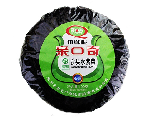 优鲜脆无沙头水紫菜(净含量:100g)