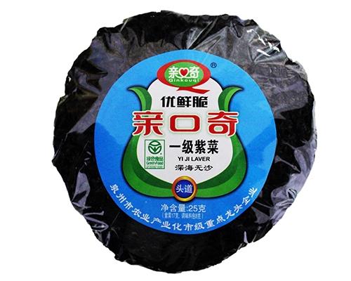 优鲜脆一级紫菜(净含量:25g)