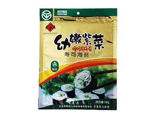 千家惠幼嫩紫菜寿司海苔(净含量:18g)