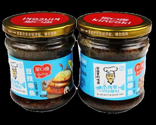 豆豉带鱼红烧微辣(净含量:208g)
