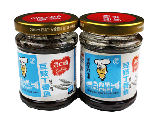 豆豉丁香鱼微辣(净含量:130g)