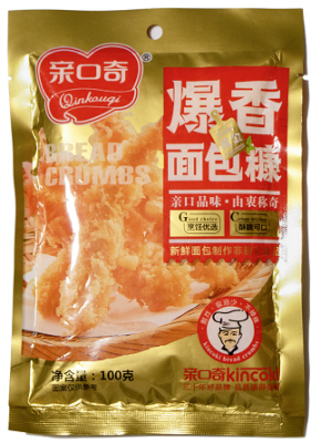 爆香面包糠 (净含量:100g)